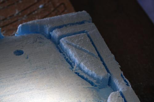 Bass guitar foam 1